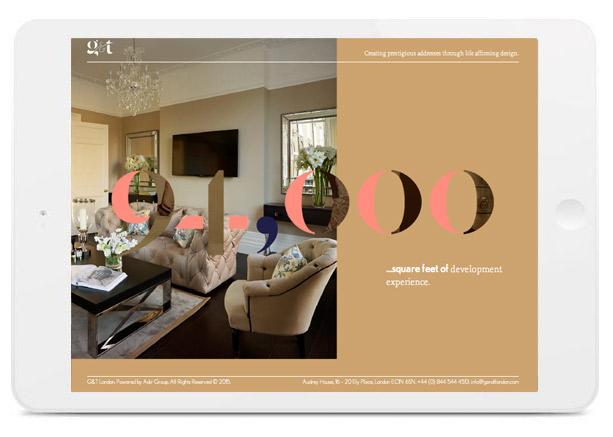 Image of G&T web design