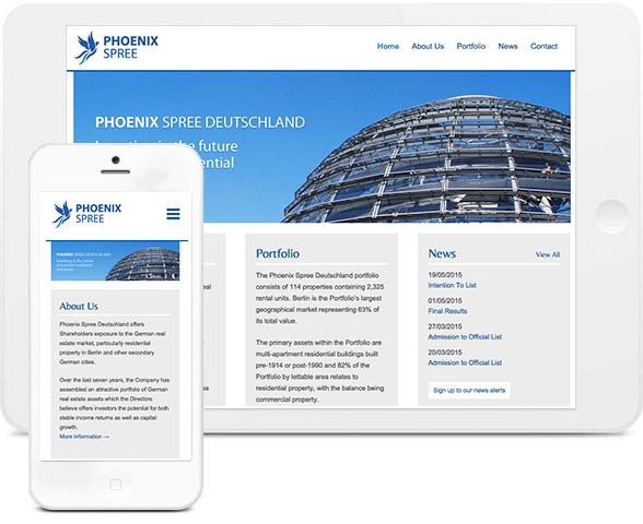 phoenix spree website
