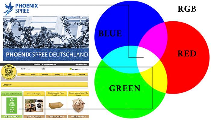 rgb colour chart