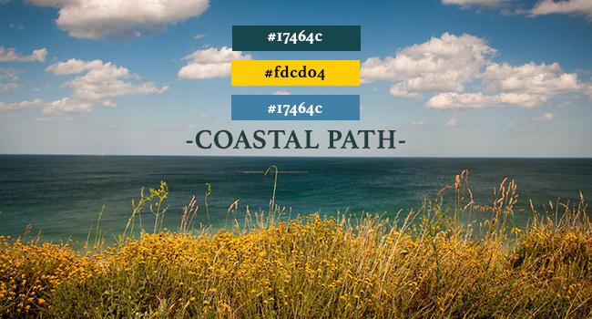 coastal path colour palette