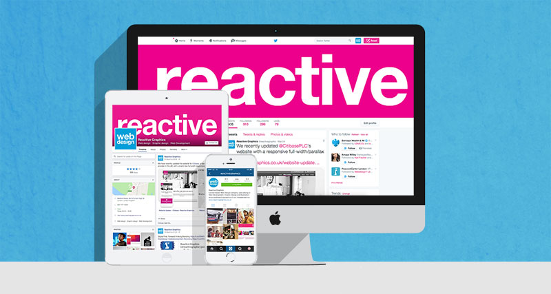 Reactive Graphics London Social Media