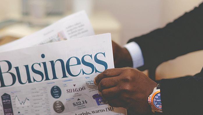 business news paper