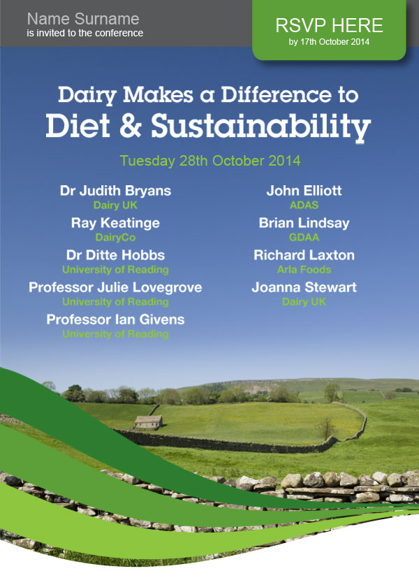 Dairy Council Newsletter Design