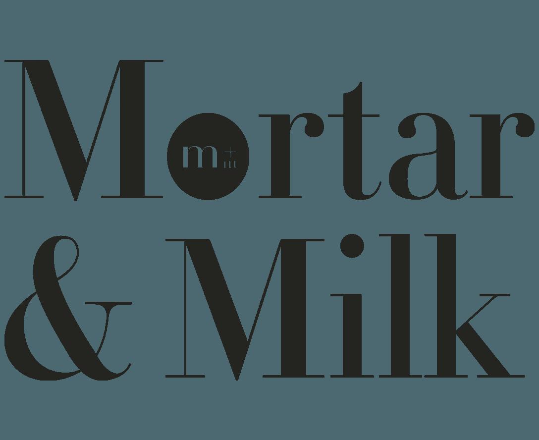 Mortar & Milk Logo
