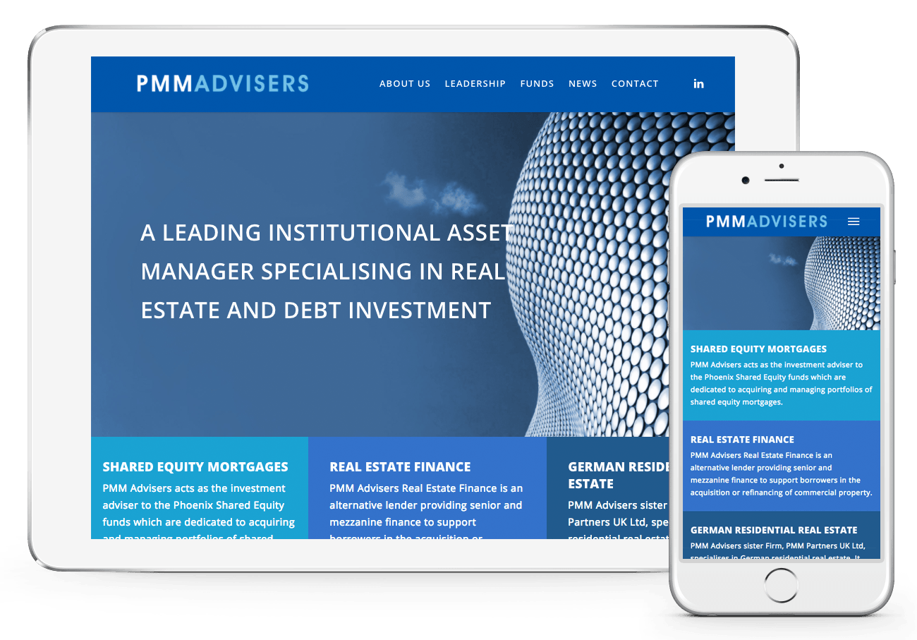 PMM Advisers Web Design