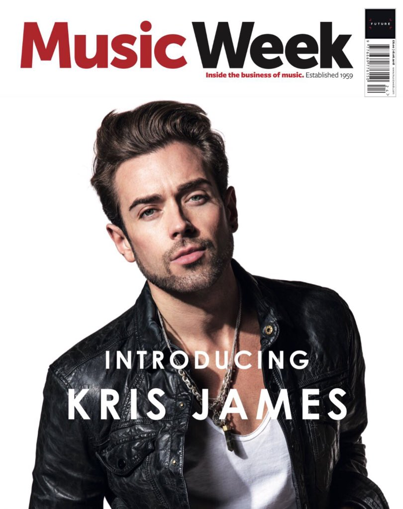 Magazine Music Week designs Reactive Graphics