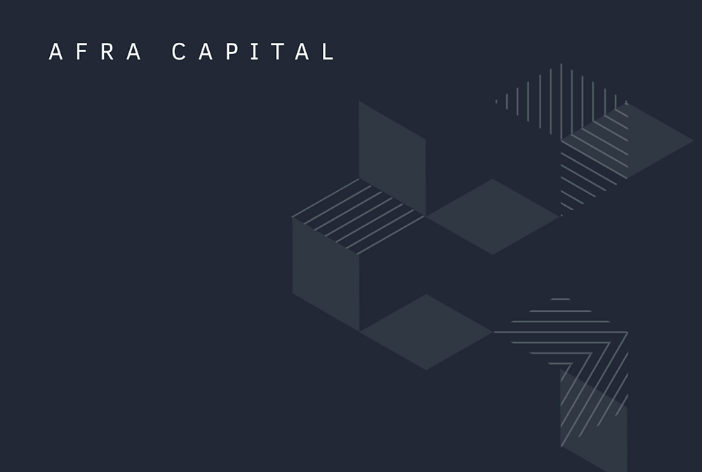 2019 – Afra Capital: Microsite Design