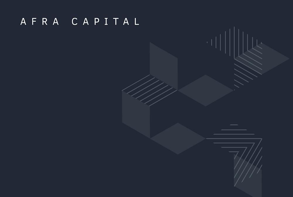 <span>Afra Capital</span> <br>Brand Design
