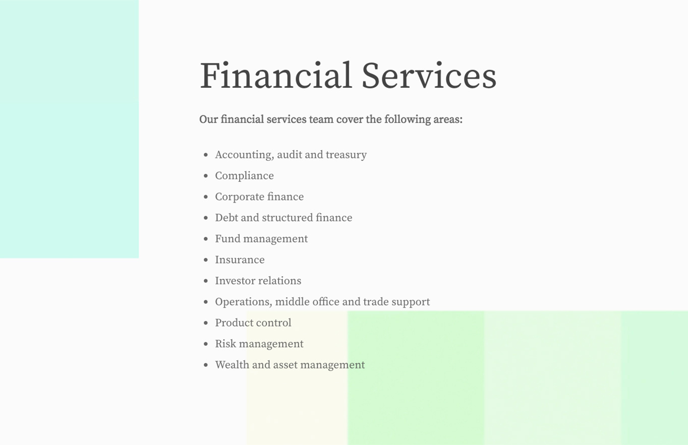 web design financial services we design london