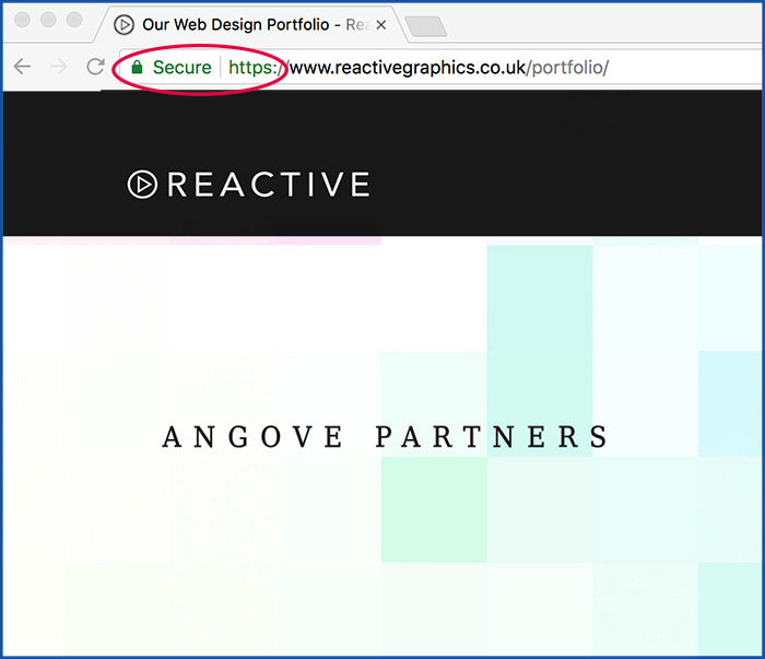 reactive graphics gdpr compliant website