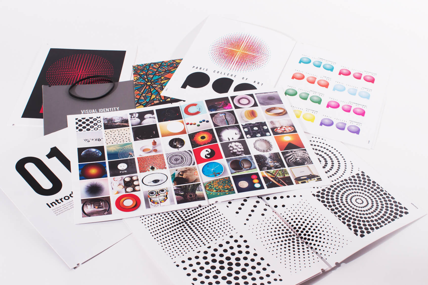 Different design magazines and prints