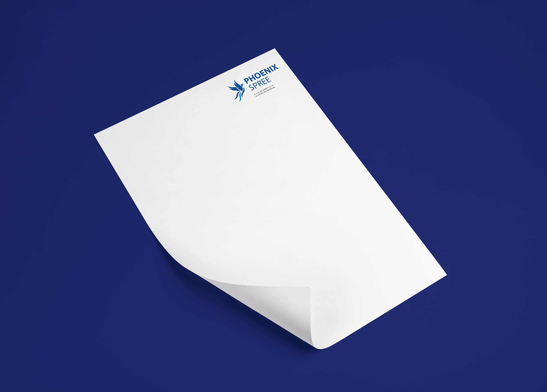 Phoenix Spree letter brand identity