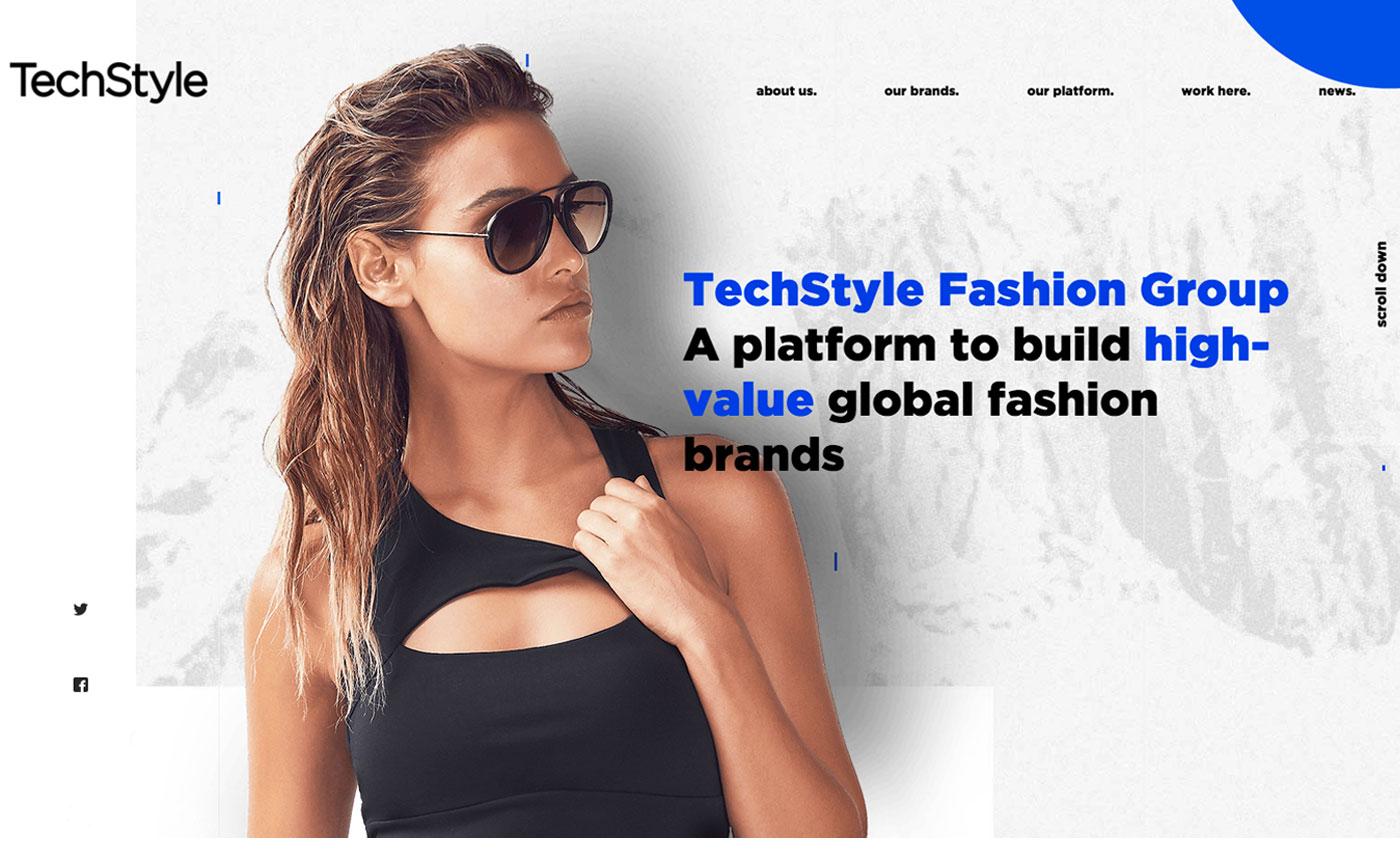 asymmetrical web design trends