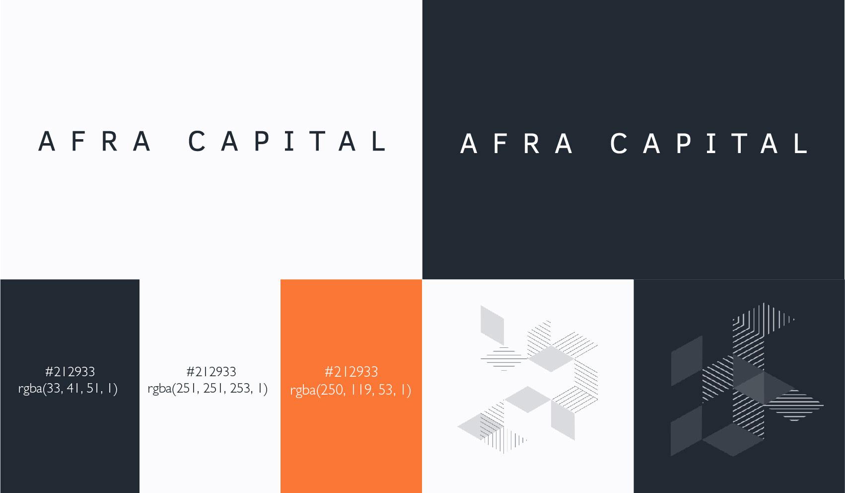 Afra Capital Brand Guidelines