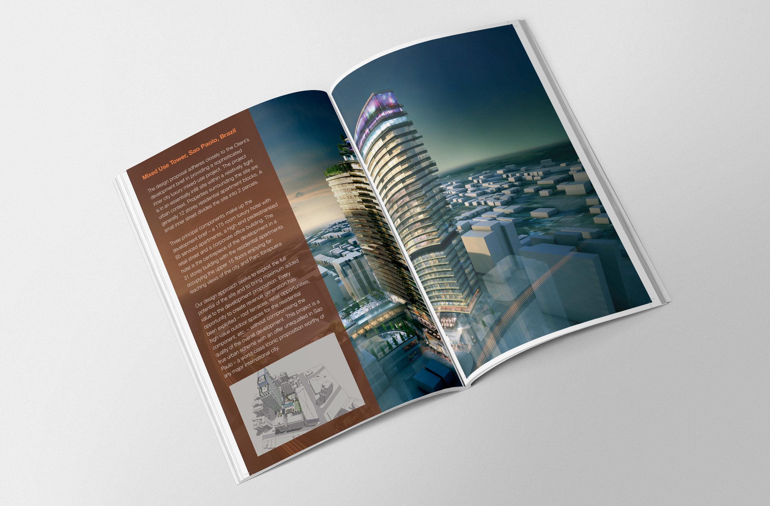 magazine design branding