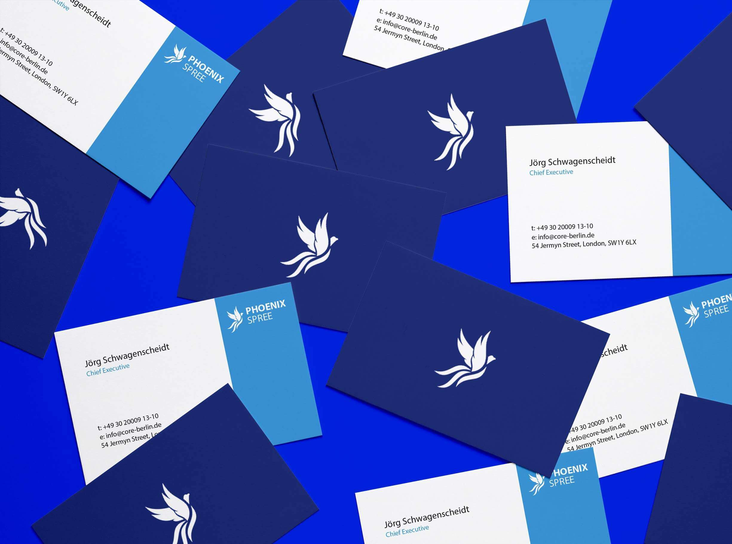 2019 –  Phoenix Spree: Brand Identity