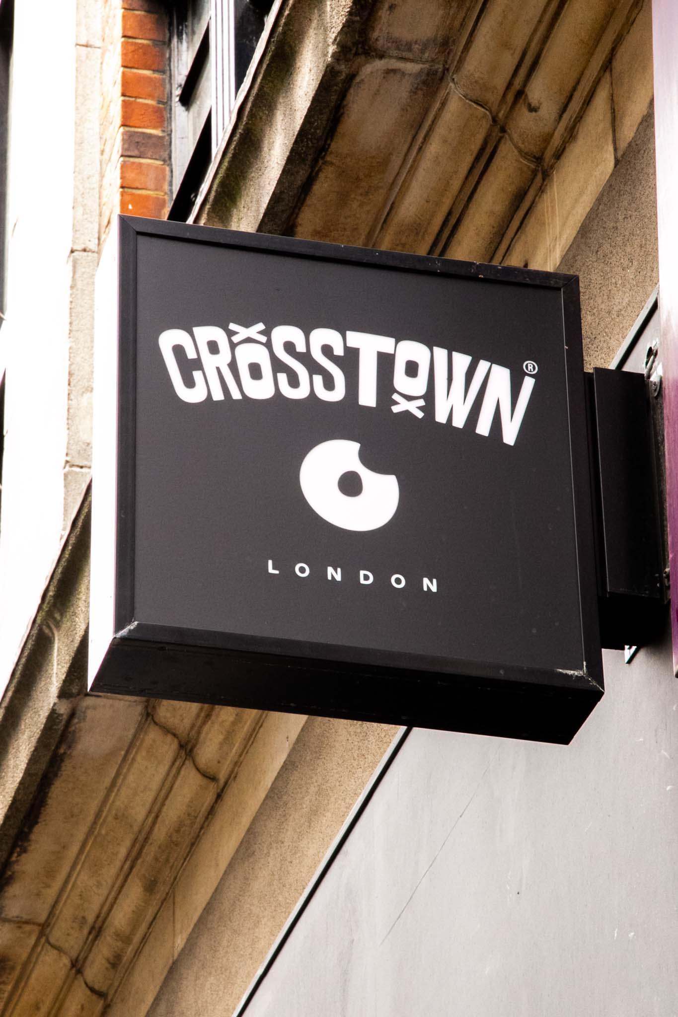 Crosstown soho brand identity