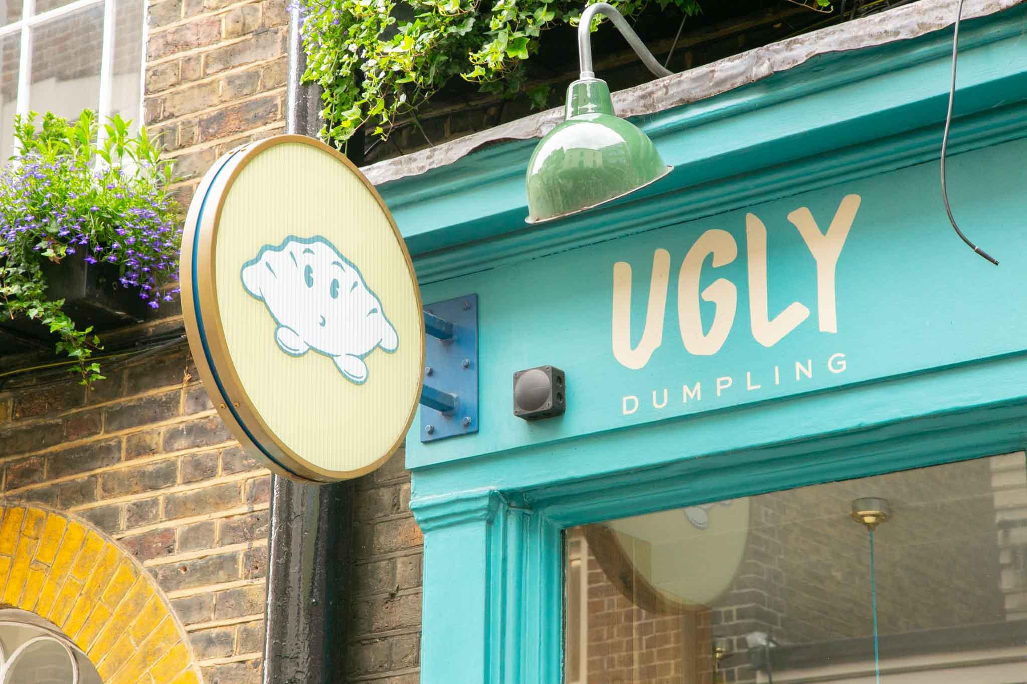 ugly dumpling soho brand identity
