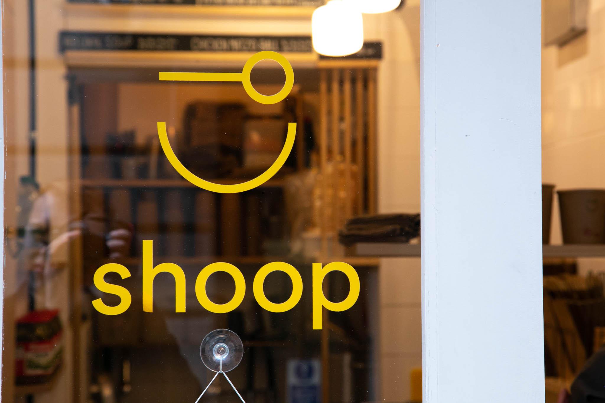 shoop soup soho brand identity