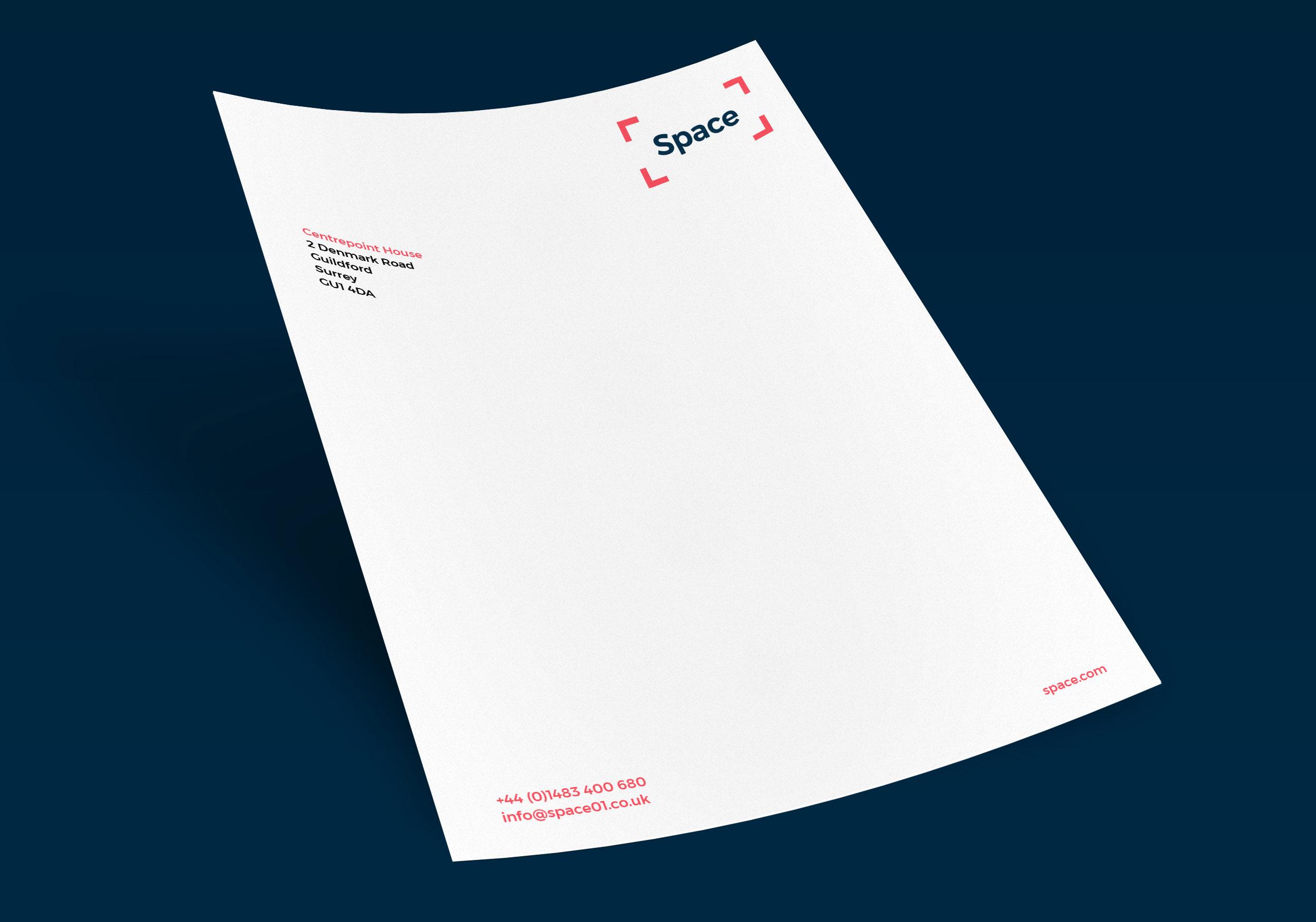 letter branding