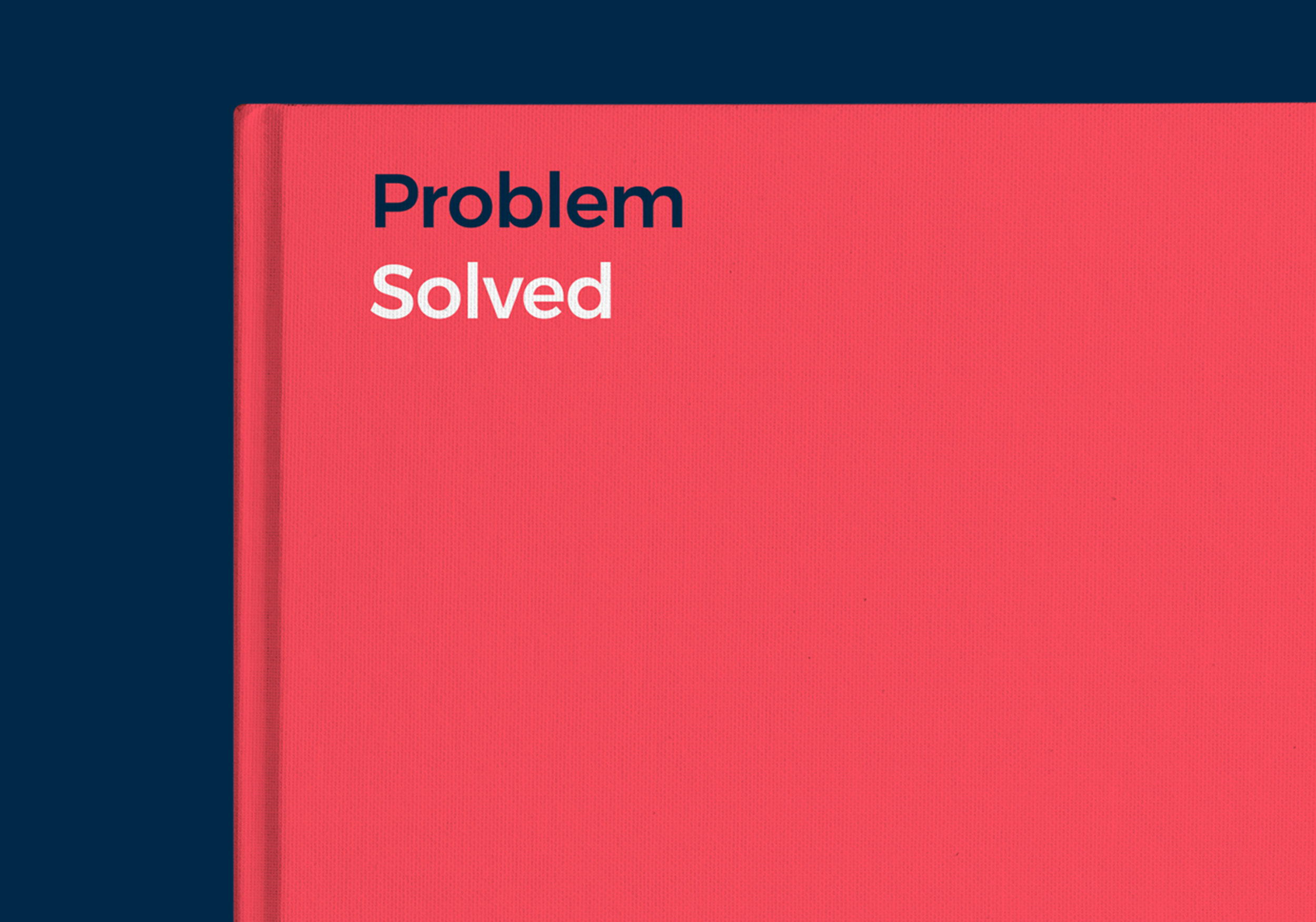 problem solved branding