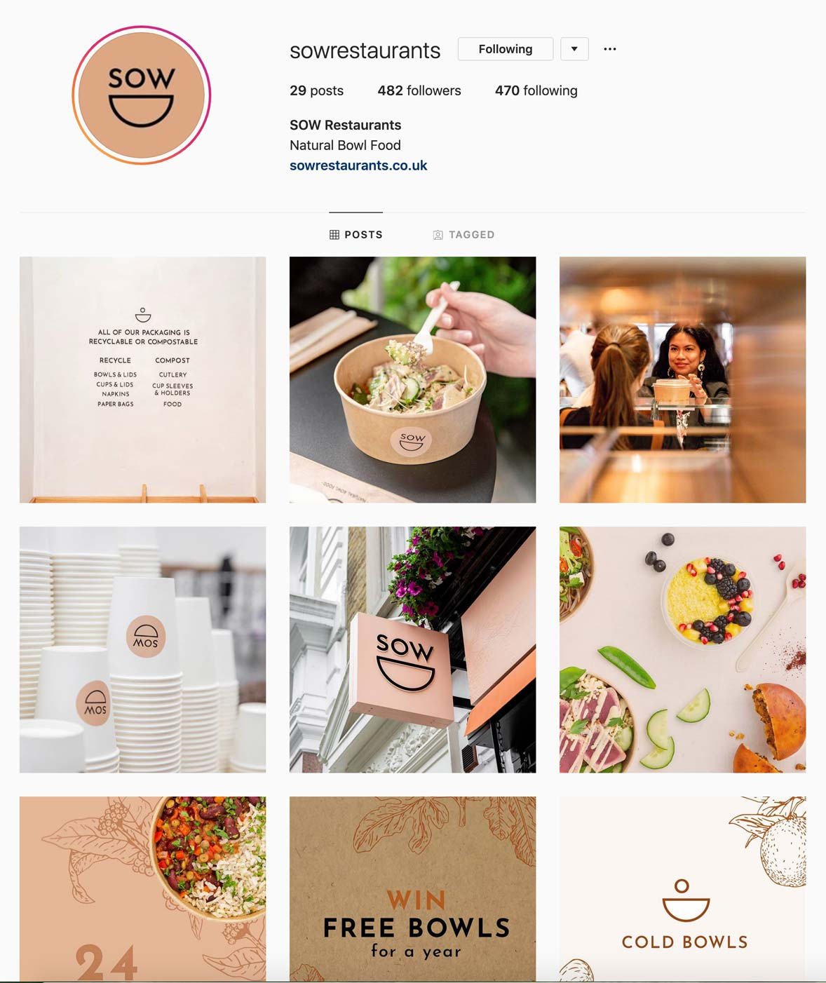 sow soho brand identity