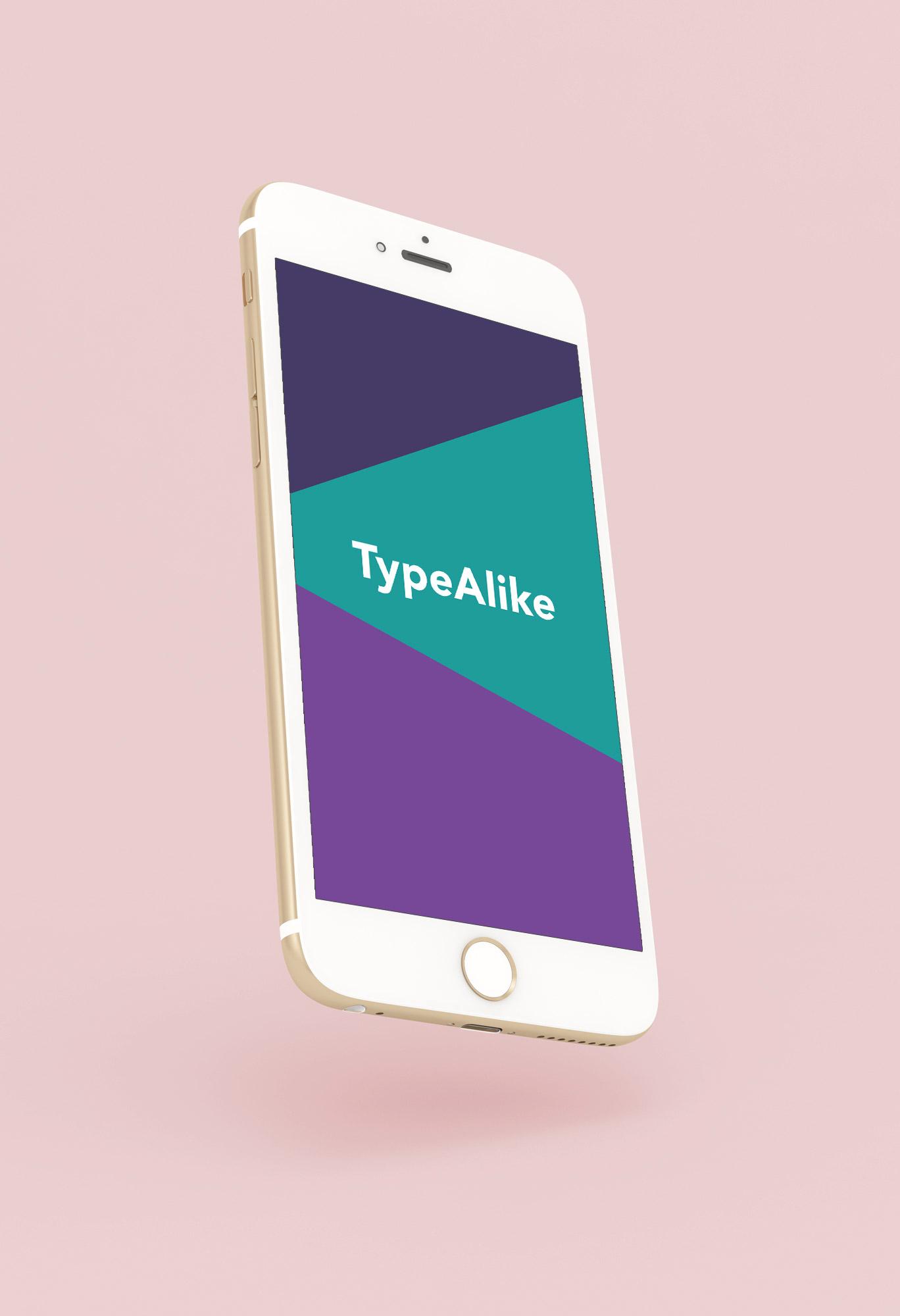 2019 – TypeAlike: Brand Identity Design