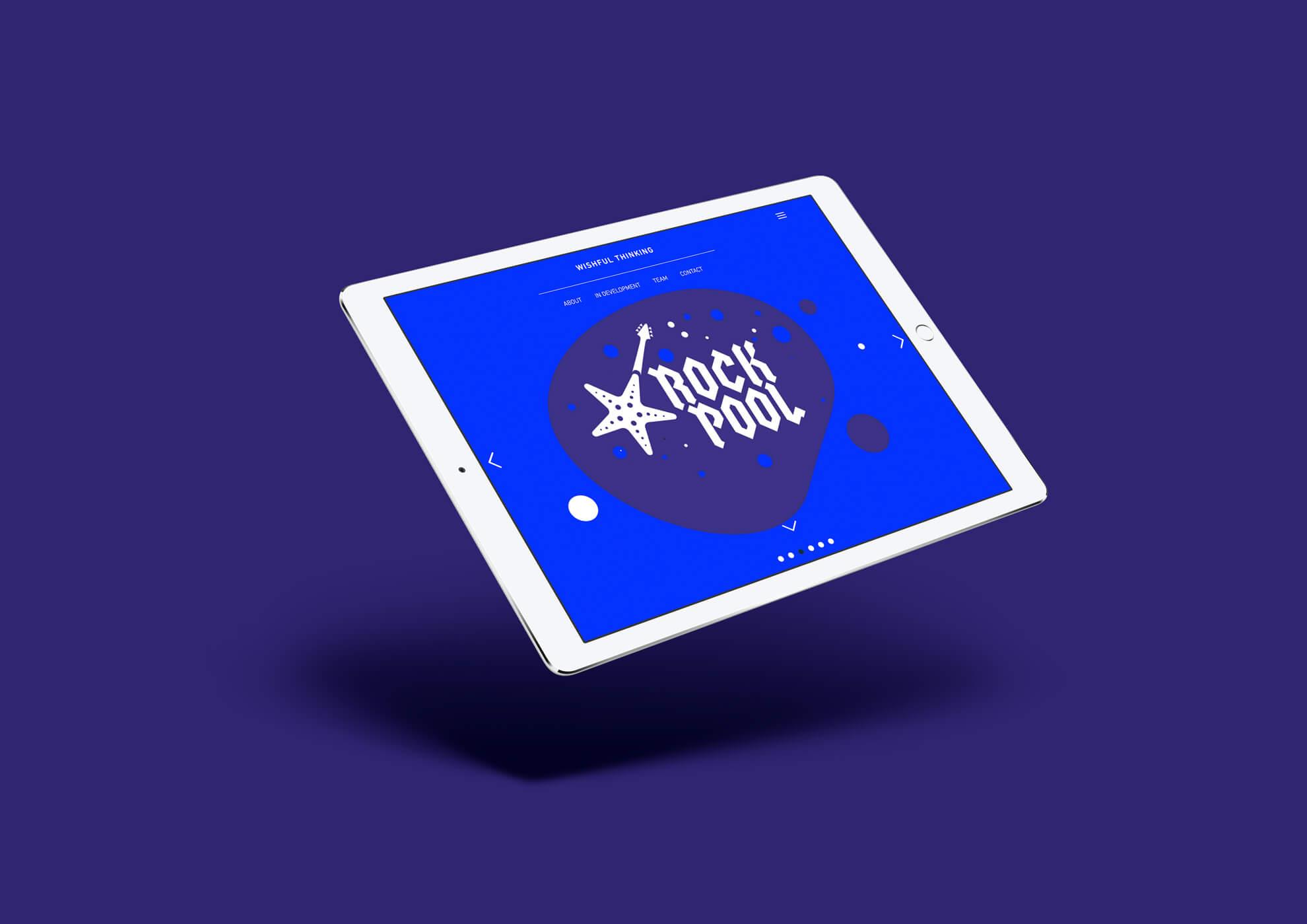 Wishful Thinking Web Development iPad