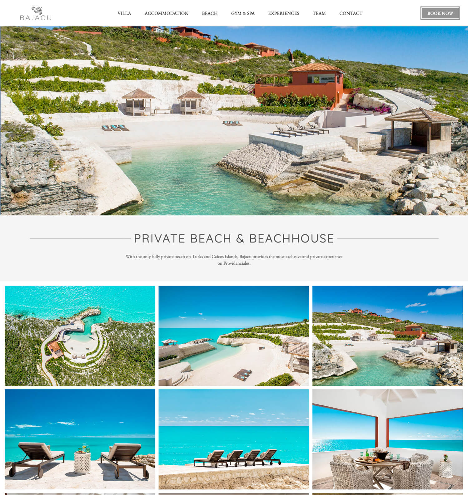 Bajacu Web Design - Inner page