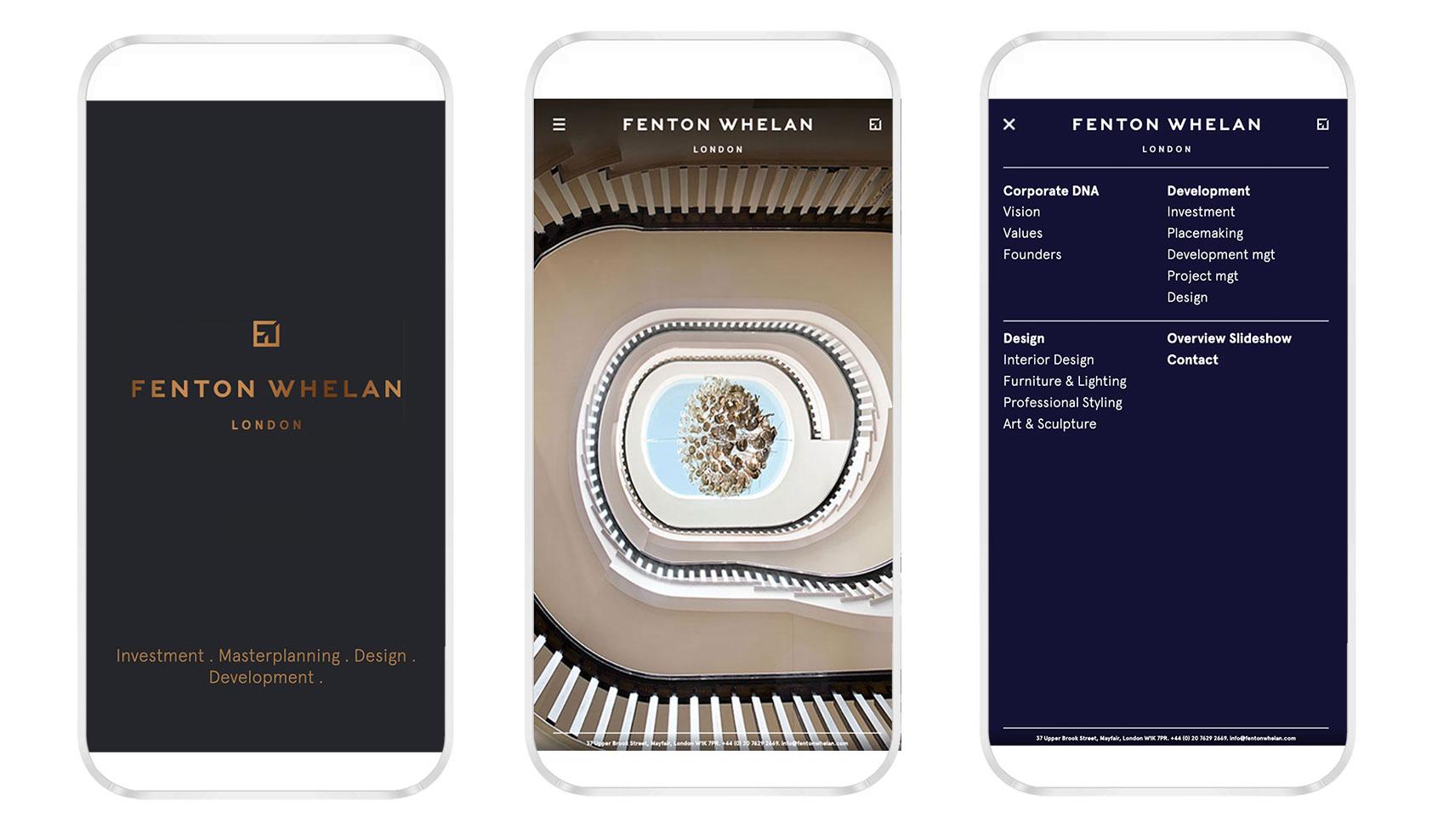 Fenton Whelan Mobile Web Design