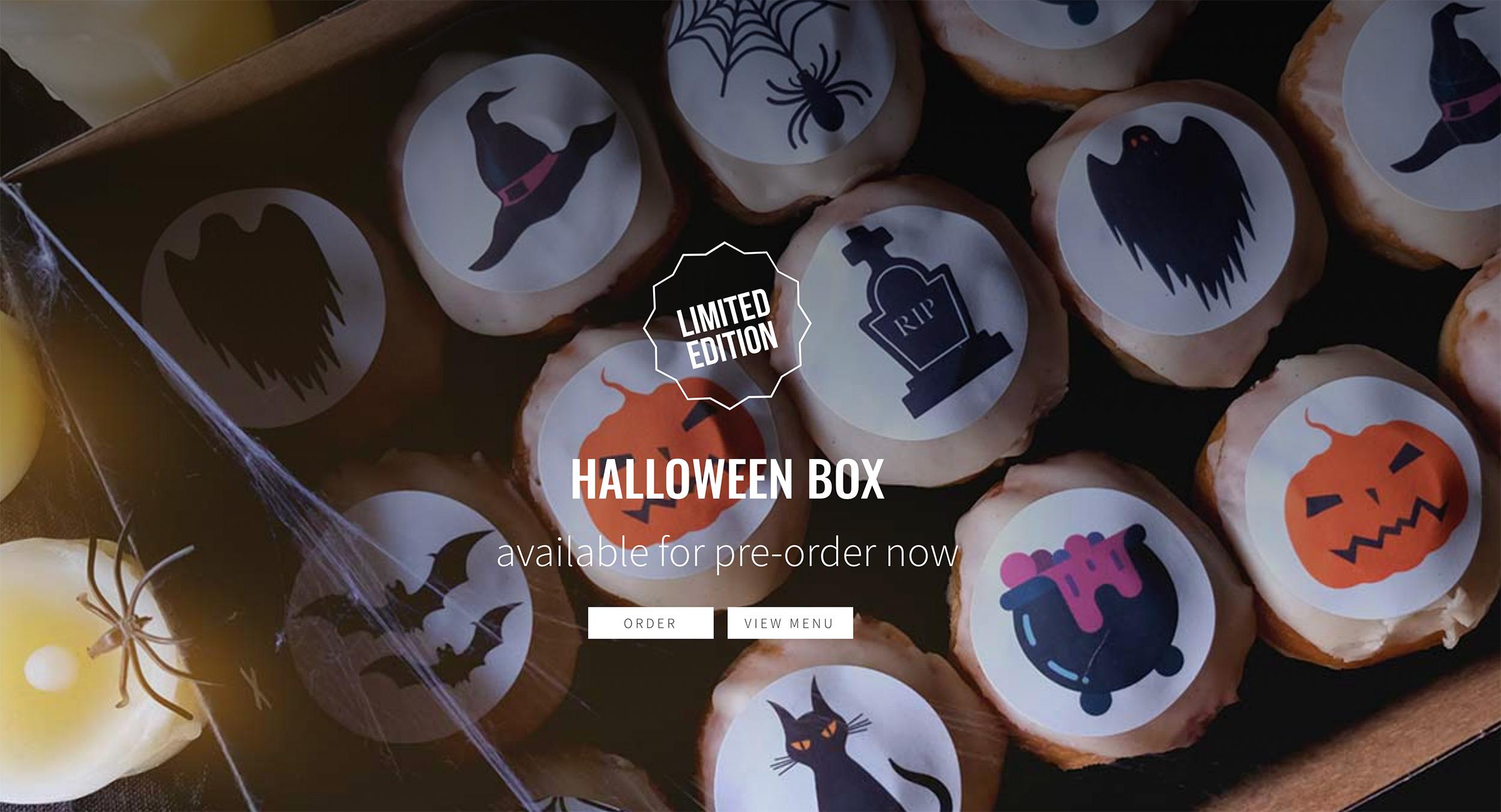 cross-town-doughnuts-web design halloween