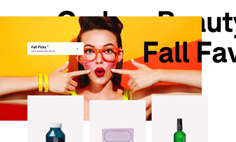 asymmetrical web design