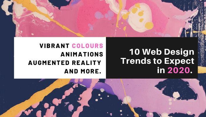 web design trend banner
