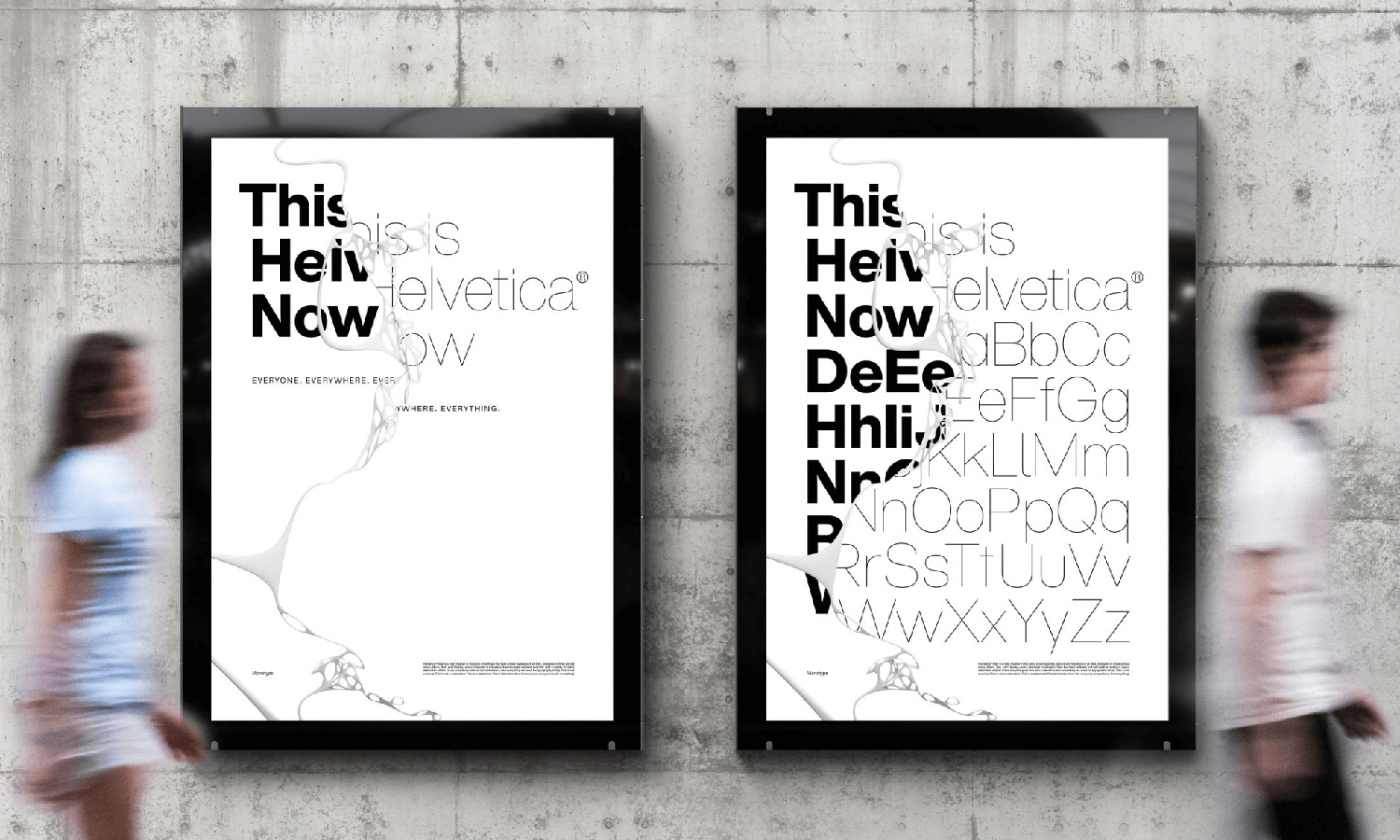 typography poster 2020