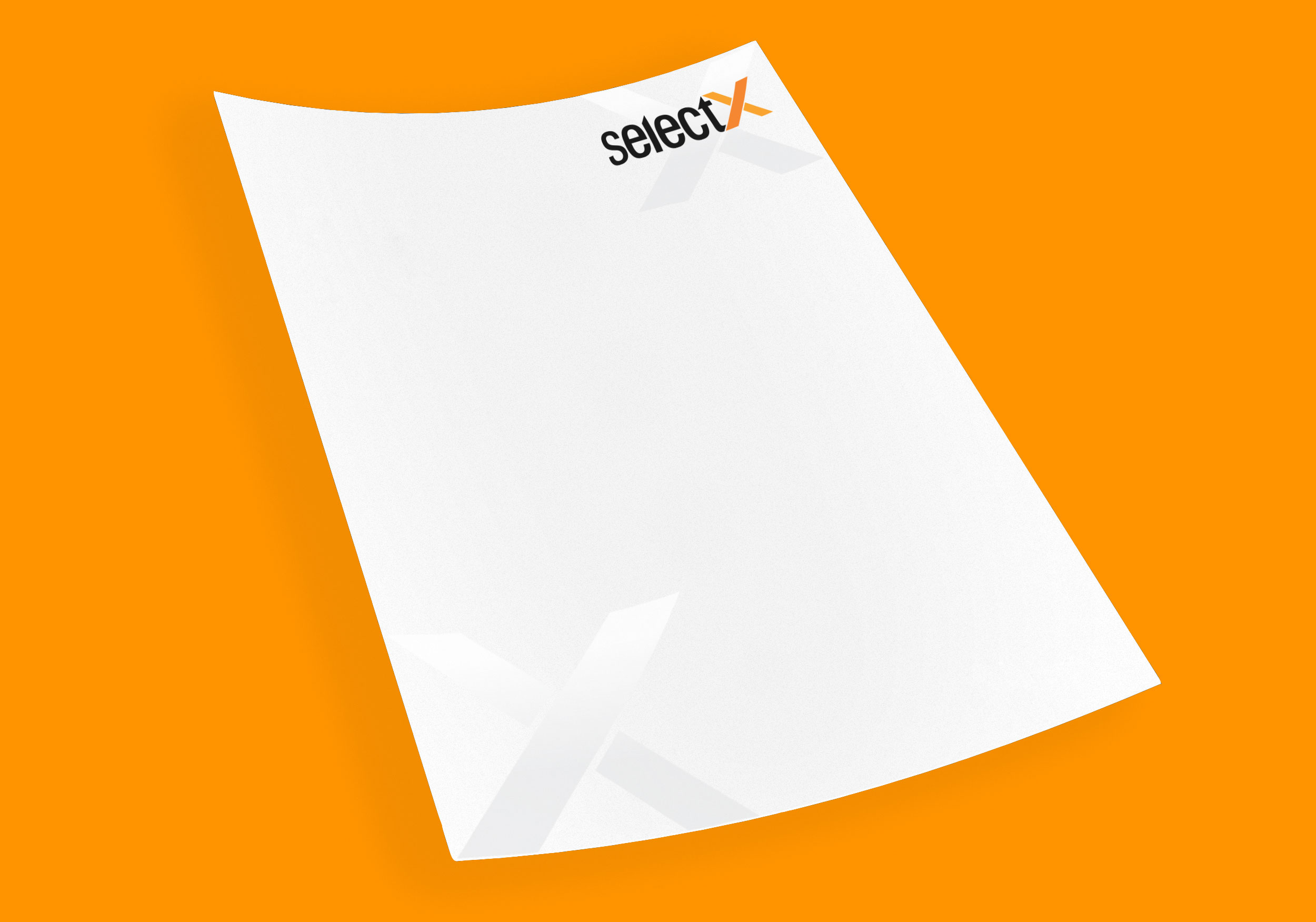 Selectx Letterhead