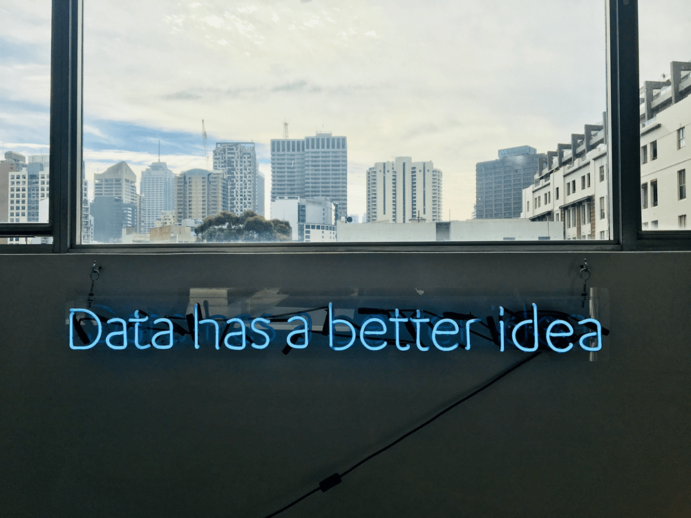 data has a better idea neon