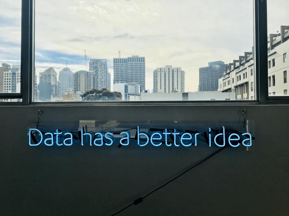 data has a better idea neon