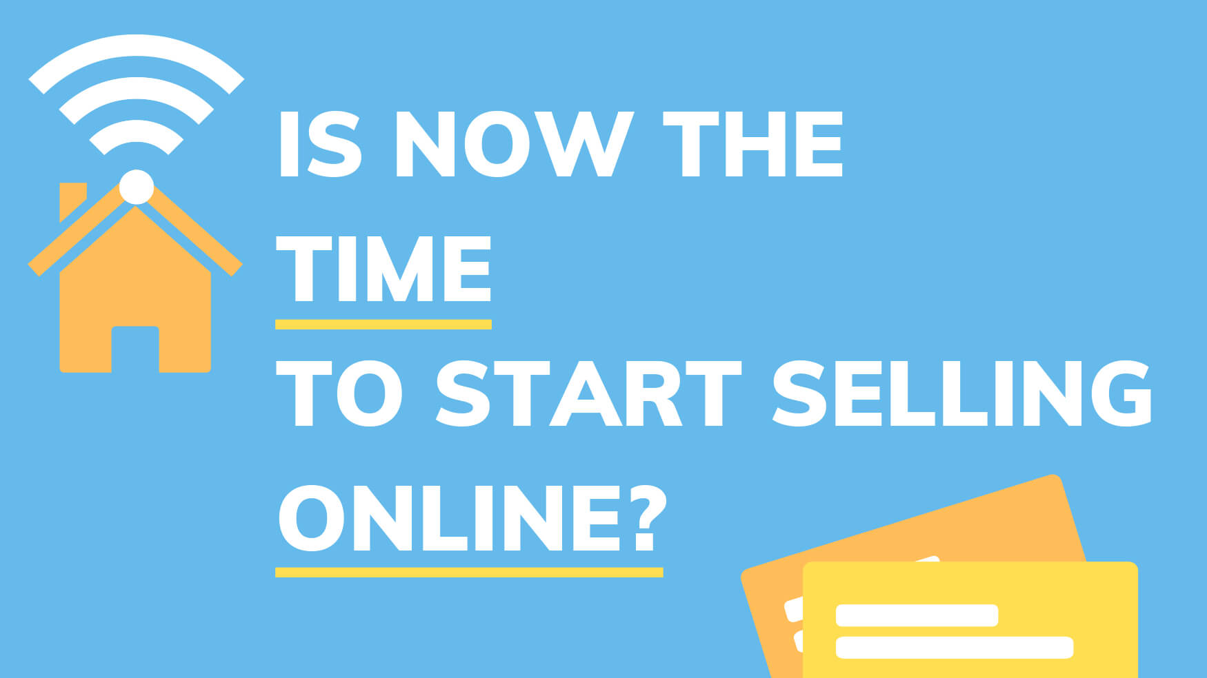 What is eCommerce and is now the time to start selling online?