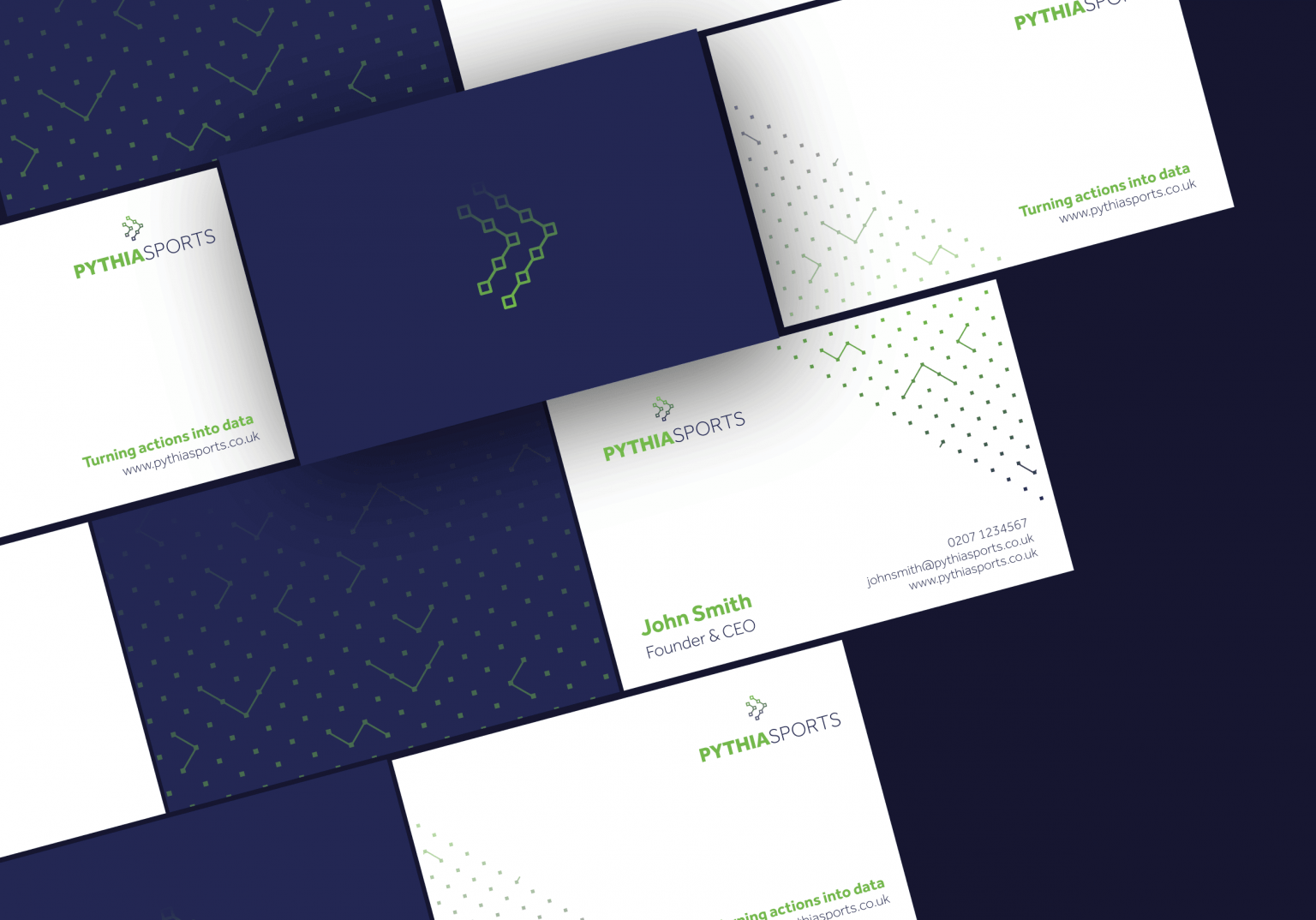 pythia-brand-business-card