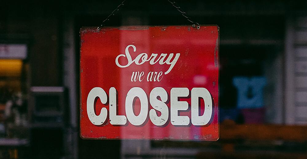shops closed
