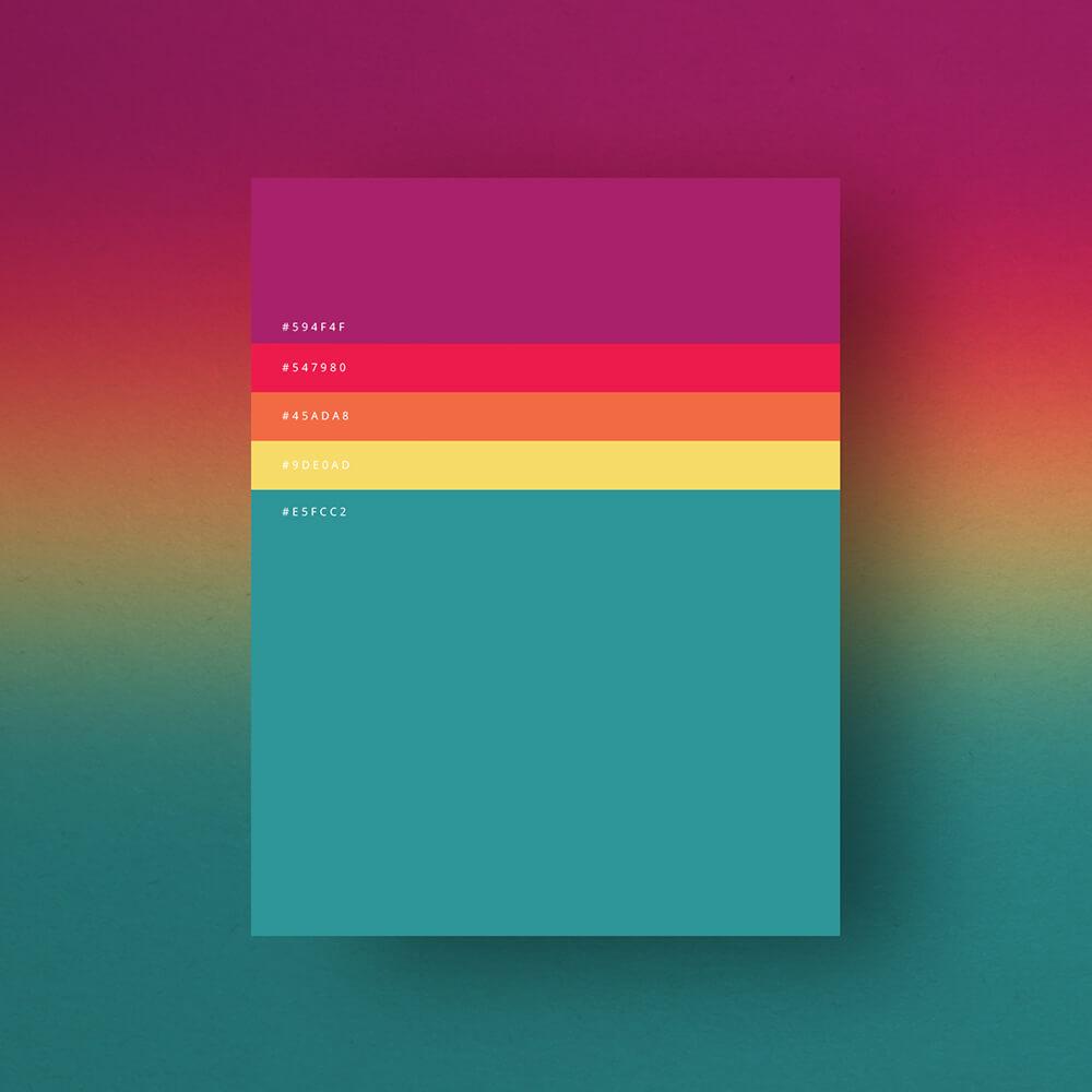 unusual colour combinations