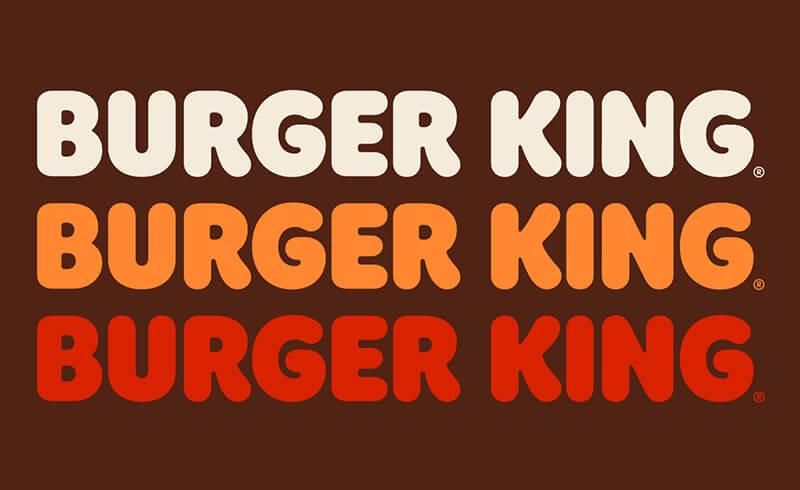 burger king flame typeface
