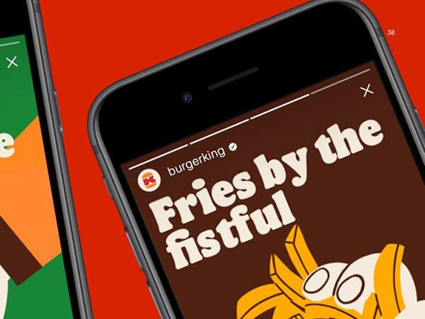 burger king digital presence