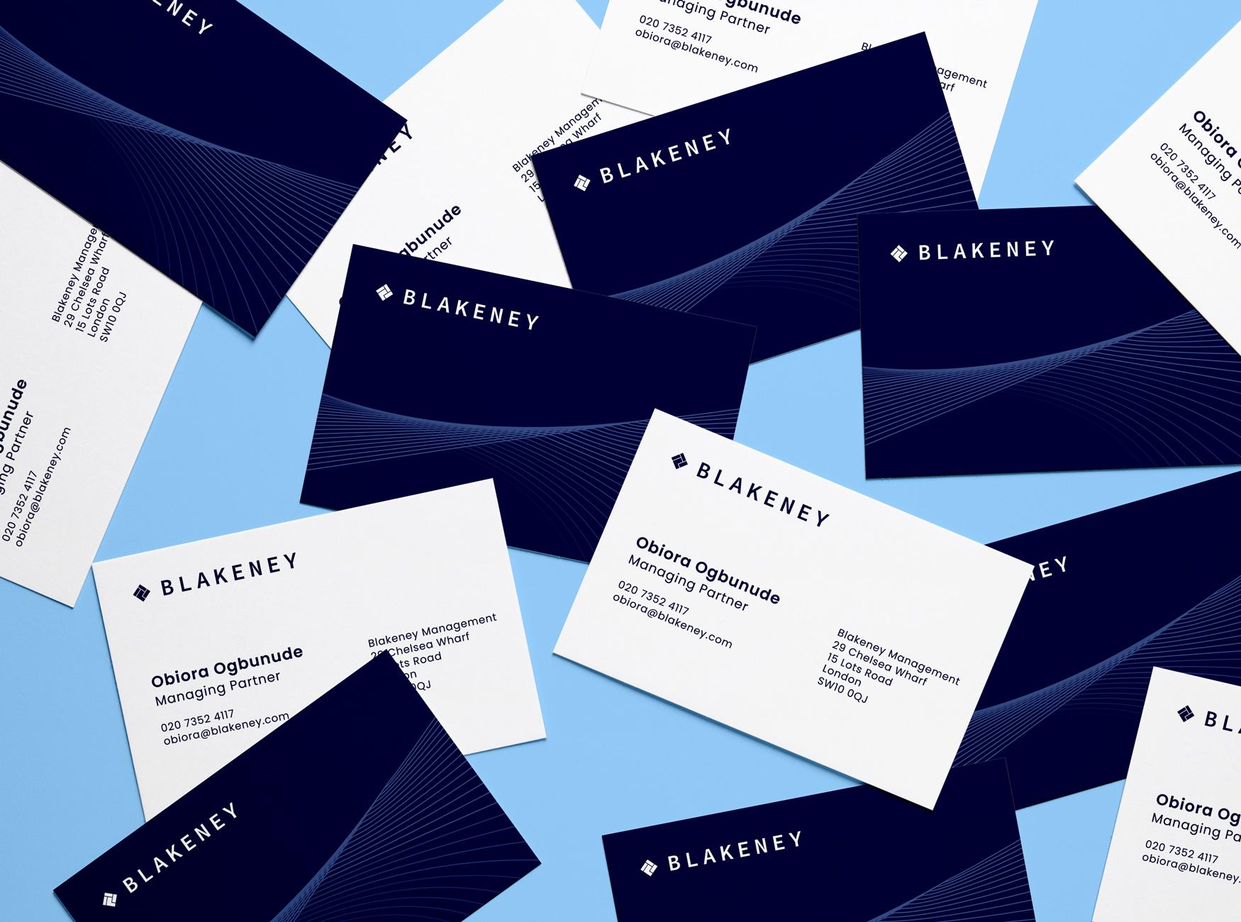 Blakeney Business Cards